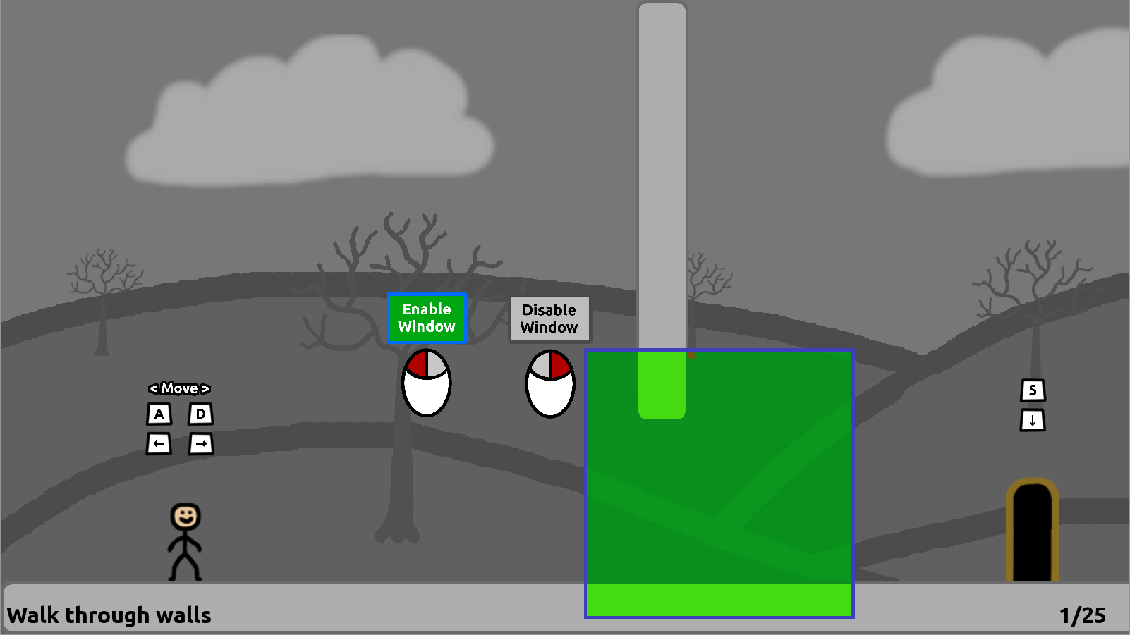 Screenshot of level 1