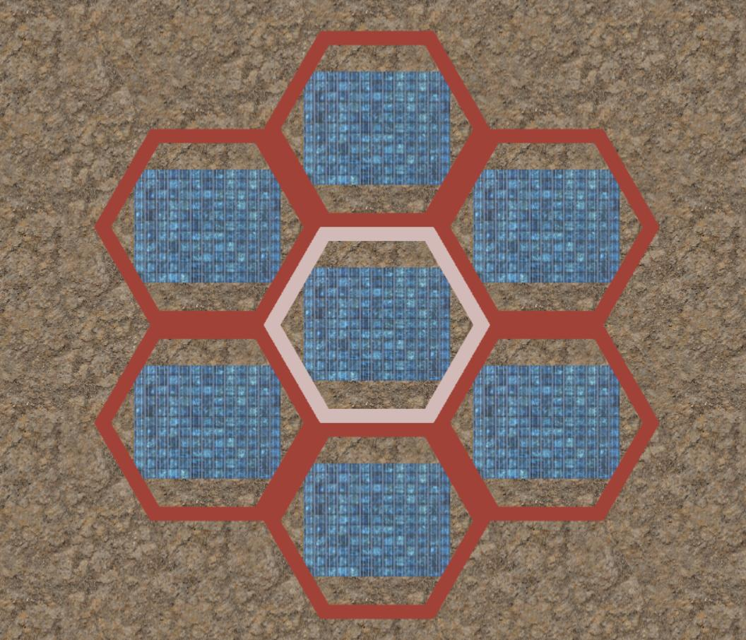 Hex RTS prototype
